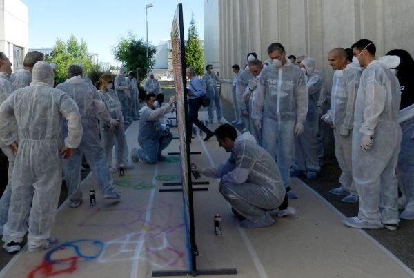 Team Building de Graffiti en Madrid